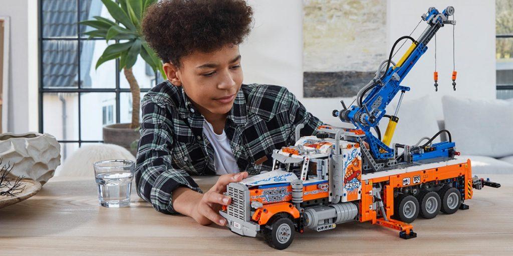 nieuwste lego sets lego technic,LEGO Technic Heavy-duty Tow Truck (42128), LEGO Technic Robuuste Sleepwagen
