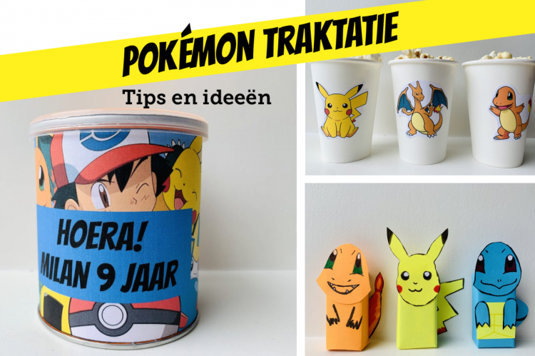 pokemon traktatie tips en ideeen,pokemon verjaardag,pokemon partijtje,pokemon feestje