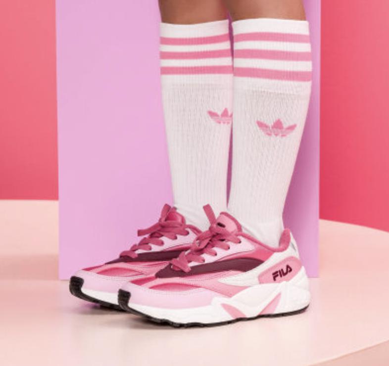 meisjes schoenen,meisjes sneakers,winterschoenen meisje,roze gympen meisje,roze sneakers meisje,fila sneakers roze