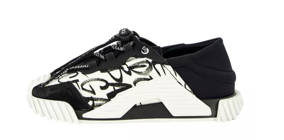 dolce en gabbana sneakers dna zwart wit,designer schoenen jongen