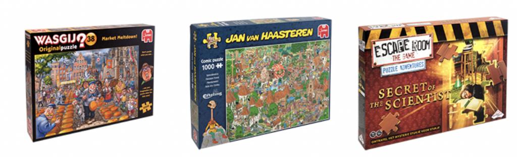 speelgoed van het jaar 2021,wasgij kaasmarkt,jan van haasteren puzzel sprookjesbos efteling,escape room the game